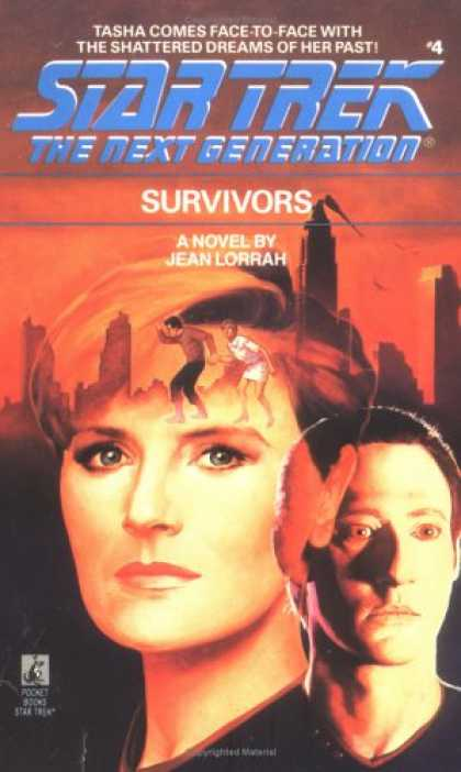 Star Trek Books - Survivors (Star Trek The Next Generation, No 4)