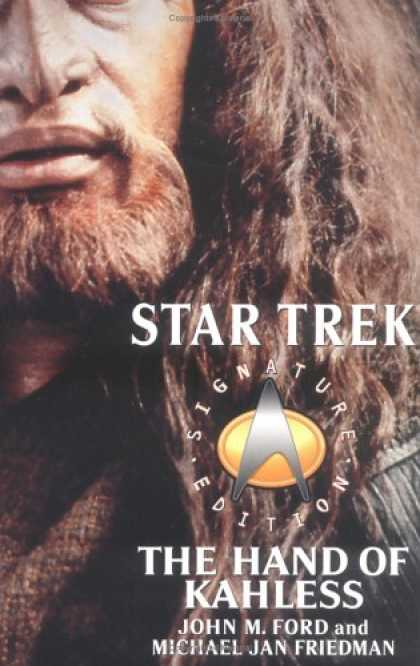 Star Trek Books - The Hand of Kahless: The Final Reflection and Kahless (Star Trek: All)