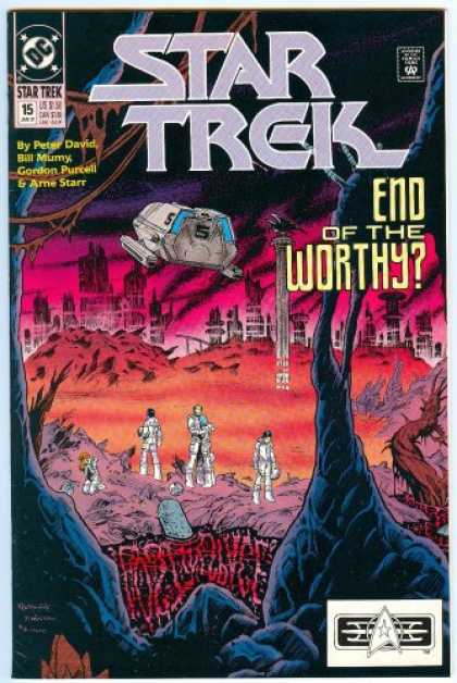 Star Trek Books - THE RETURN OF THE WORTHY PART THREE: TOMORROW NEVER KNOWS! (Star Trek, 15)