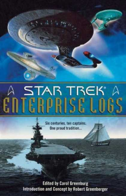 Star Trek Books - Enterprise Logs: Star Trek