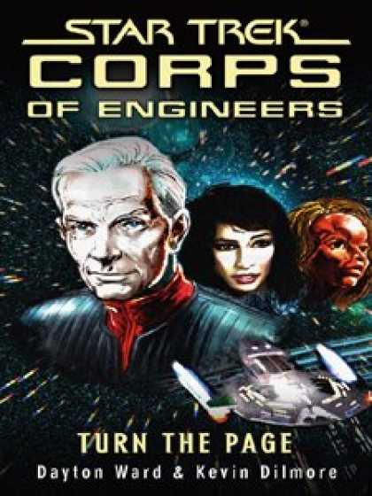 Star Trek Books - Turn the Page (Star Trek: SCE)