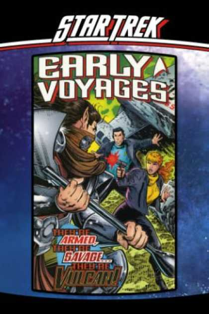 Star Trek Books - Star Trek: Early Voyages