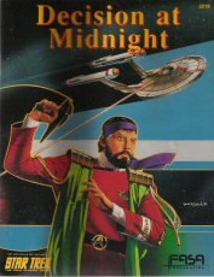 Star Trek Books - Decision at Midnight (Star Trek Role Playing Game)