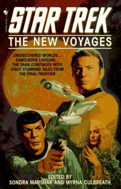 Star Trek Books - The New Voyages (Star Trek)