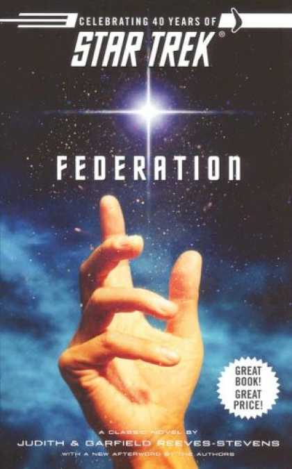 Star Trek Books - Federation (Star Trek: the Original Series)