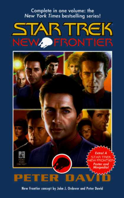Star Trek Books - New Frontier (Star Trek New Frontier)