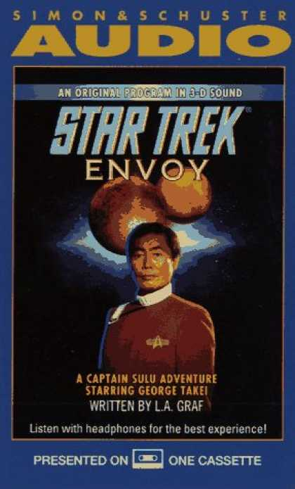 Star Trek Books - STAR TREK A CAPTAIN SULU ADVENTURE ENVOY (CASSETTE) (Captain Sulu Adventure, No