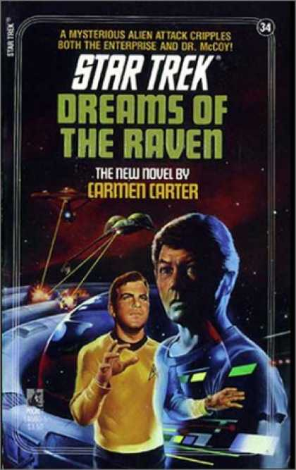 Star Trek Books - Dreams of the Raven (Star Trek, No 34)