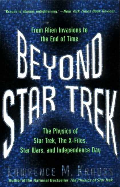 Star Trek Books - Beyond Star Trek: From Alien Invasions to the End of Time