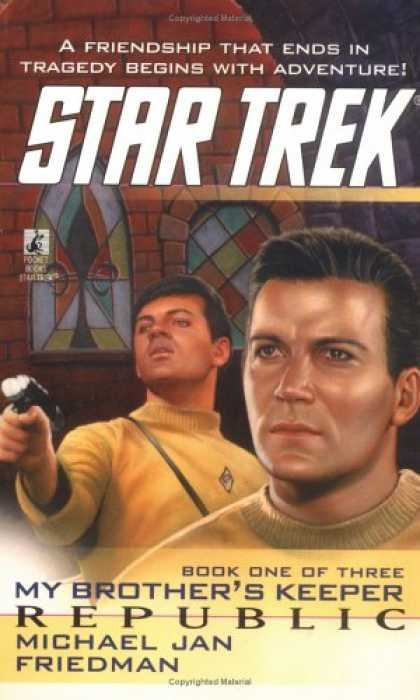 Star Trek Books - Republic (Star Trek: My Brother's Keeper, Book 1)