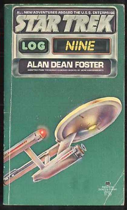 Star Trek Books - Star Trek Log Nine
