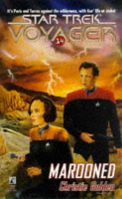 Star Trek Books - Marooned (Star Trek Voyager, No 14)