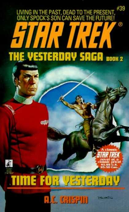 Star Trek Books - Time for Yesterday (Star Trek, No 39)