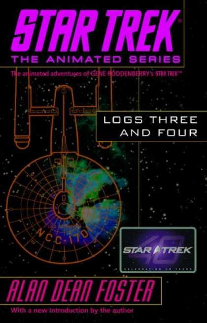 Star Trek Books - Star Trek Logs Three and Four (Star Trek the Animated Series)