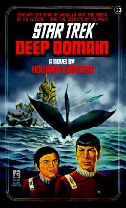 Star Trek Books - Deep Domain (Star Trek, No 33)