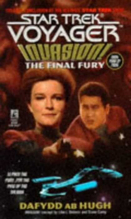 Star Trek Books - The Final Fury (Star Trek: Voyager, No 9: Invasion Book No 4)