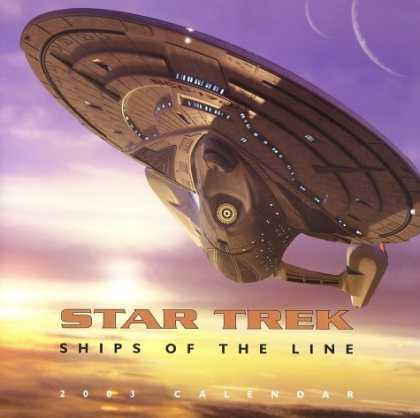 Star Trek Books - Star Trek Ships of the Line 2003 Calendar (Star Trek (Calendars))
