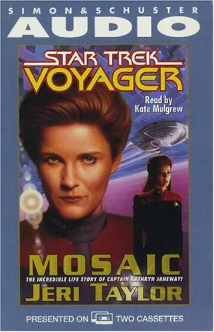 Star Trek Books - STAR TREK VOYAGER: MOSAIC CASSETTE (Star Trek: Voyager)