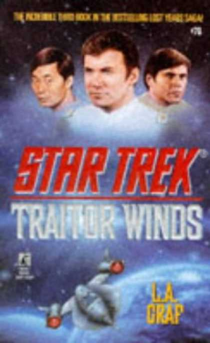 Star Trek Books - Traitor Winds (Star Trek, Book 70)