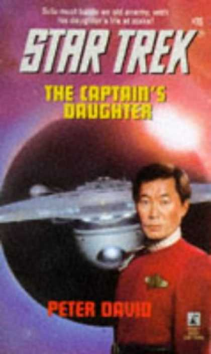 Star Trek Books - The Captain's Daughter (Star Trek, Book 76)