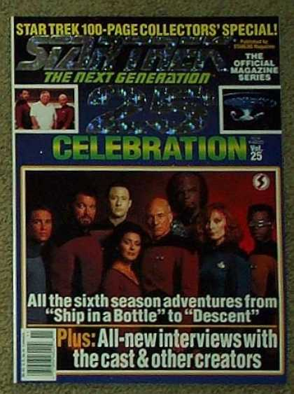 Star Trek Books - Star Trek the Next Generation 25th Celebration #25 (100 Page Collector's Special