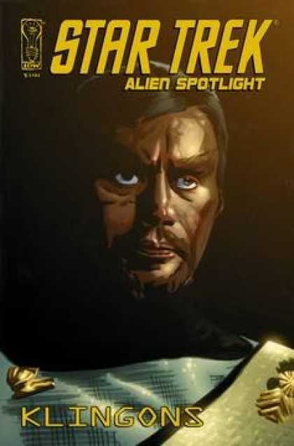 Star Trek Books - Star Trek Alien Spotlight Klingons