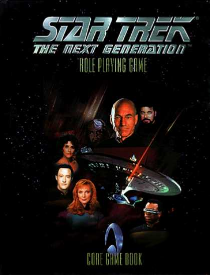 Star Trek Books - Star Trek: The Next Generation Role Playing Game (Star Trek Next Generation (Unn