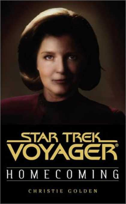 Star Trek Books - Homecoming (Star Trek Voyager Book One of Two) (Pt.1)