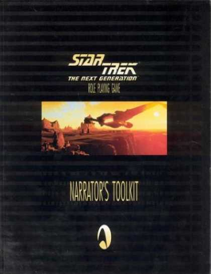 Star Trek Books - Star Trek The Next Generation - Role Playing Game: Narrator's Toolkit