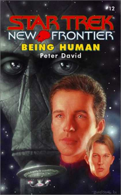 Star Trek Books - Being Human (Star Trek New Frontier, No 12)