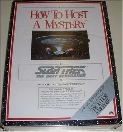 Star Trek Books - How to Host a Mystery: Star Trek the Next Generation/Game