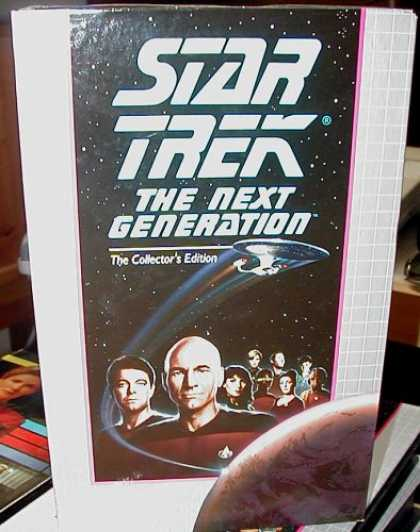 Star Trek Books - Star Trek: The Next Generation (Collector's Edition)- The Chase, and Frame of Mi