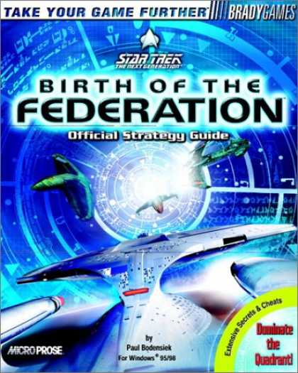 Star Trek Books - Star Trek: Birth of the Federation Official Strategy Guide (Brady Games)