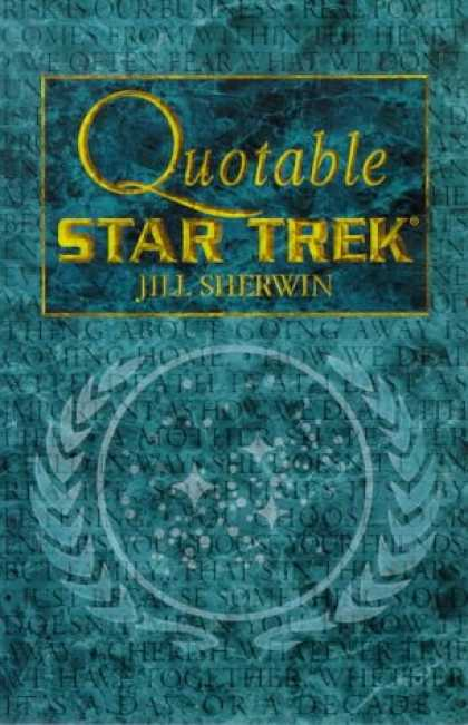 Star Trek Books - Quotable Star Trek