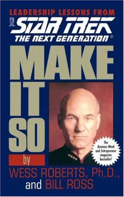 Star Trek Books - Make It So (Star Trek: The Next Generation)
