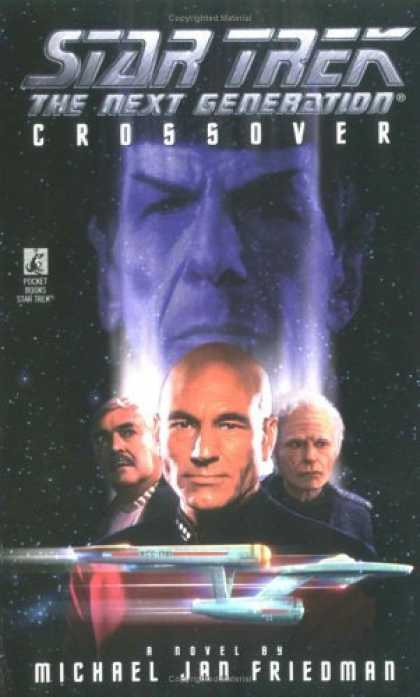 Star Trek Books - Crossover (Star Trek: The Next Generation)