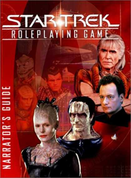 Star Trek Books - Star Trek Roleplaying Game Narrator's Guide