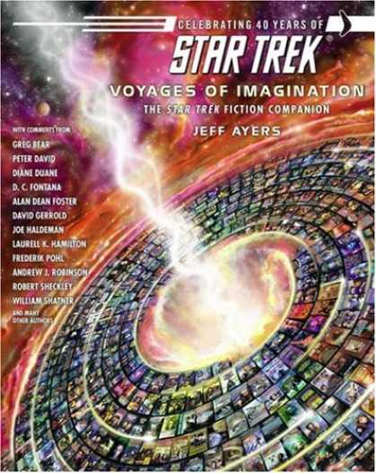 Star Trek Books - Voyages of Imagination: The Star Trek Fiction Companion