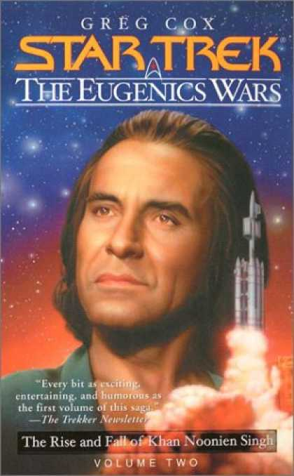 Star Trek Books - The Eugenics Wars Vol. 2: The Rise and Fall of Khan Noonien Singh (Star Trek)