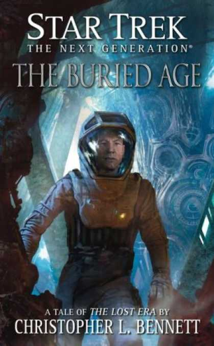 Star Trek Books - The Buried Age (Star Trek: The Next Generation)
