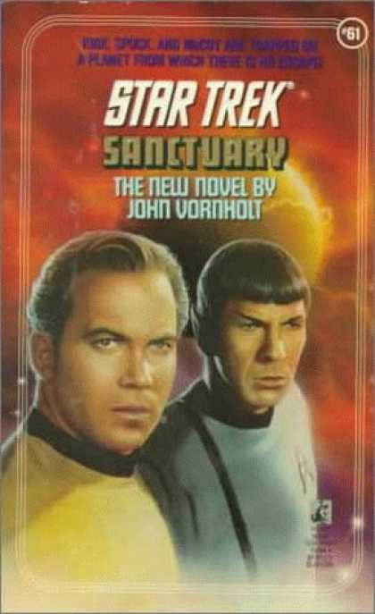 Star Trek Books - Sanctuary (Star Trek, Book 61)