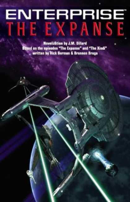 Star Trek Books - The Expanse (Star Trek: Enterprise)