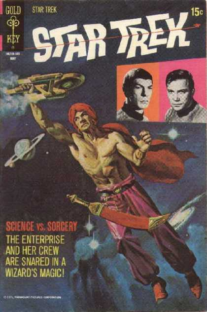 Star Trek 10 - Science - Sorcery - Spaceship - Planet - Saturn - Frank Miller