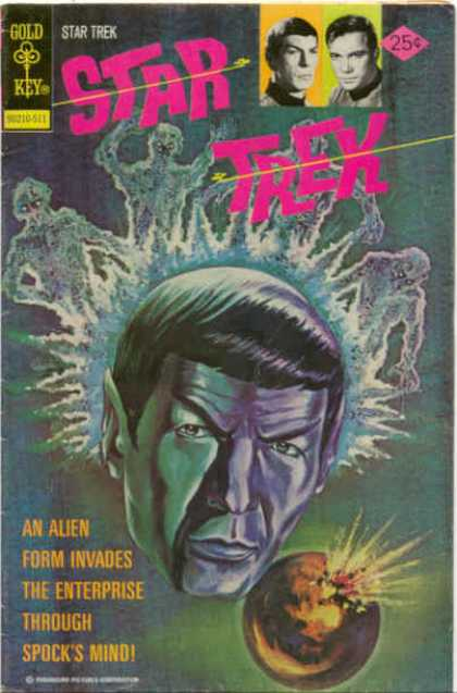 Star Trek 35 - Spock - Kirk - Alien - Enterprise - Mind