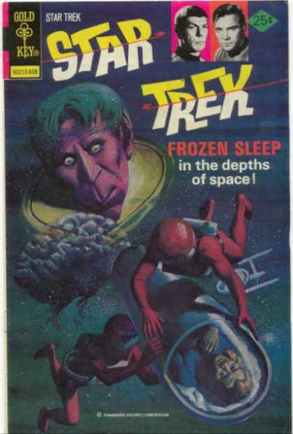 Star Trek 39 - Frozen Sleep - Brain - Space Walk - Spock - Kirk