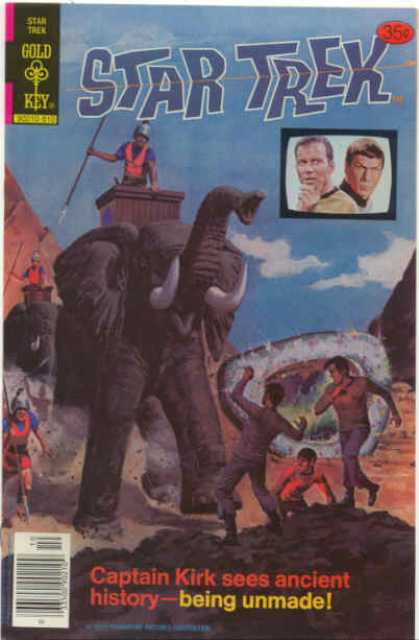 Star Trek 56 - Captain Kirk - Ancient History - Pyramids - Elephants - Spock