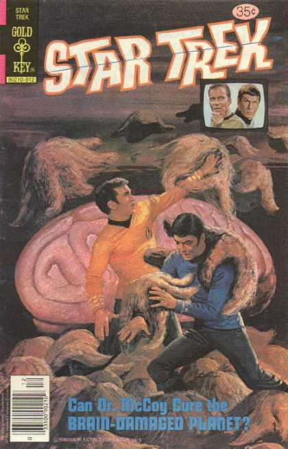 Star Trek 58 - Captain Kirk - Spock - Monster - Space - Men