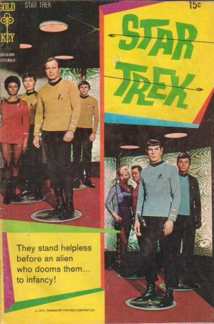 Star Trek 8 - Man - People - Guy - Boy - Standing - Dave Cockrum