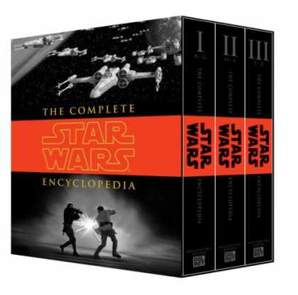 Star Wars Books - The Complete Star Wars Encyclopedia