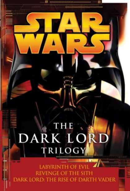 Star Wars Books - Star Wars The Dark Lord Trilogy: Labyrinth of Evil        Revenge of the